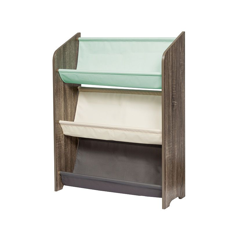 Honey Can Do Kids Collection 3 Tier Book Rack In 2020 Book Racks