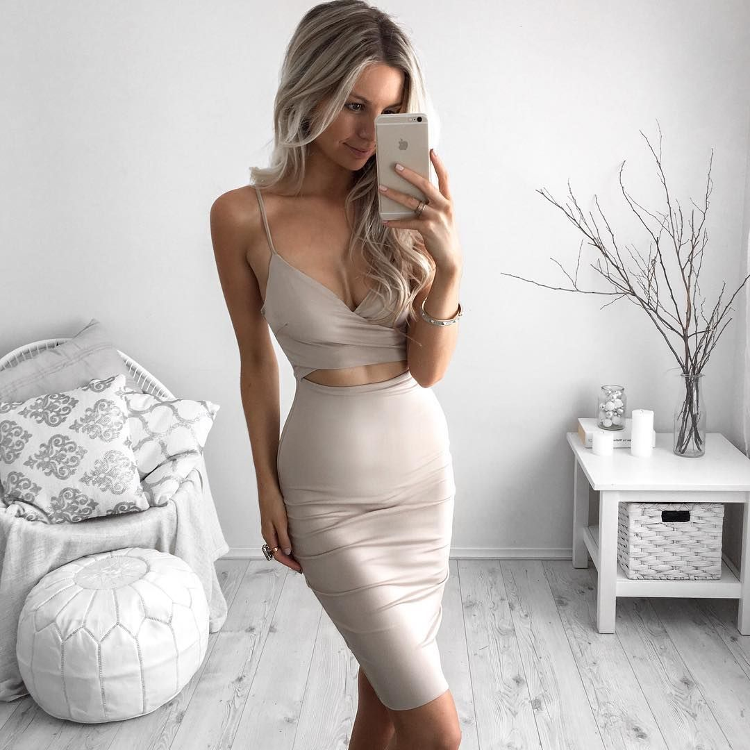 """""""My kind of dress ✨ @mura_boutique  Think I'll be getting a lot of wear out of this one """""""