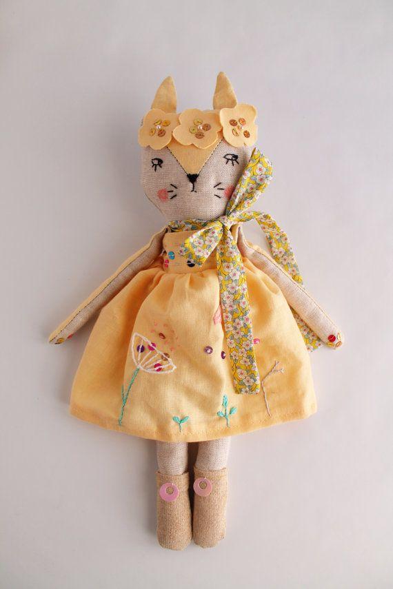 Pin su мягкие куклы