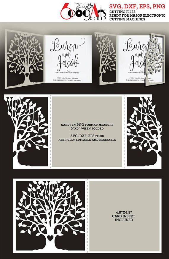 2 tree lace card templates digital cut svg dxf files wedding 2 tree lace card templates digital cut svg dxf files wedding invitation stationery laser cuttable download stopboris Choice Image