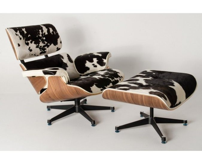 Eames Cowhide Chair Stool House Snug Eames