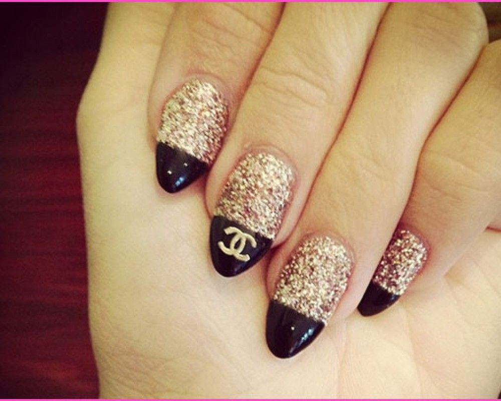 Chanel Nail Designs Coco Chanel Nail Art Nail Design Ideas