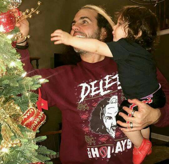Matt Hardy & His Son | Wwe Family | Jeff hardy, The hardy ...