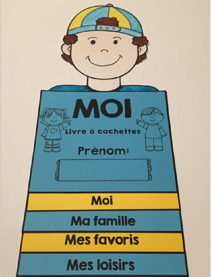 Rentrée scolaire - livre à cachettes - french all about me | French ...