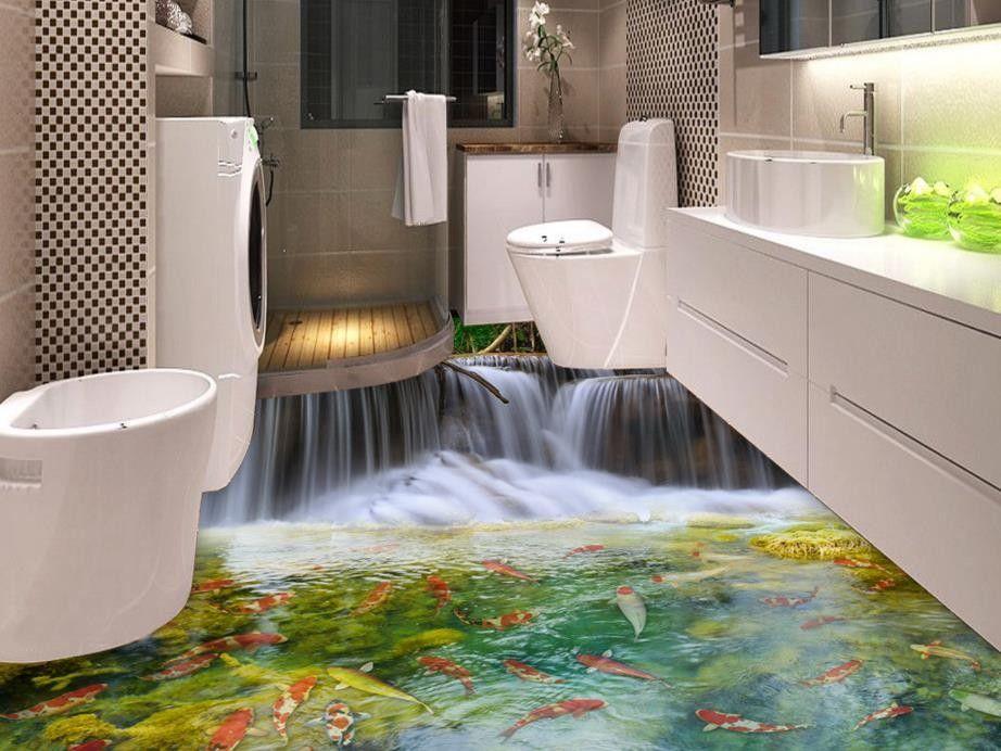 waterproof vinyl flooring for bathrooms  idalias salon