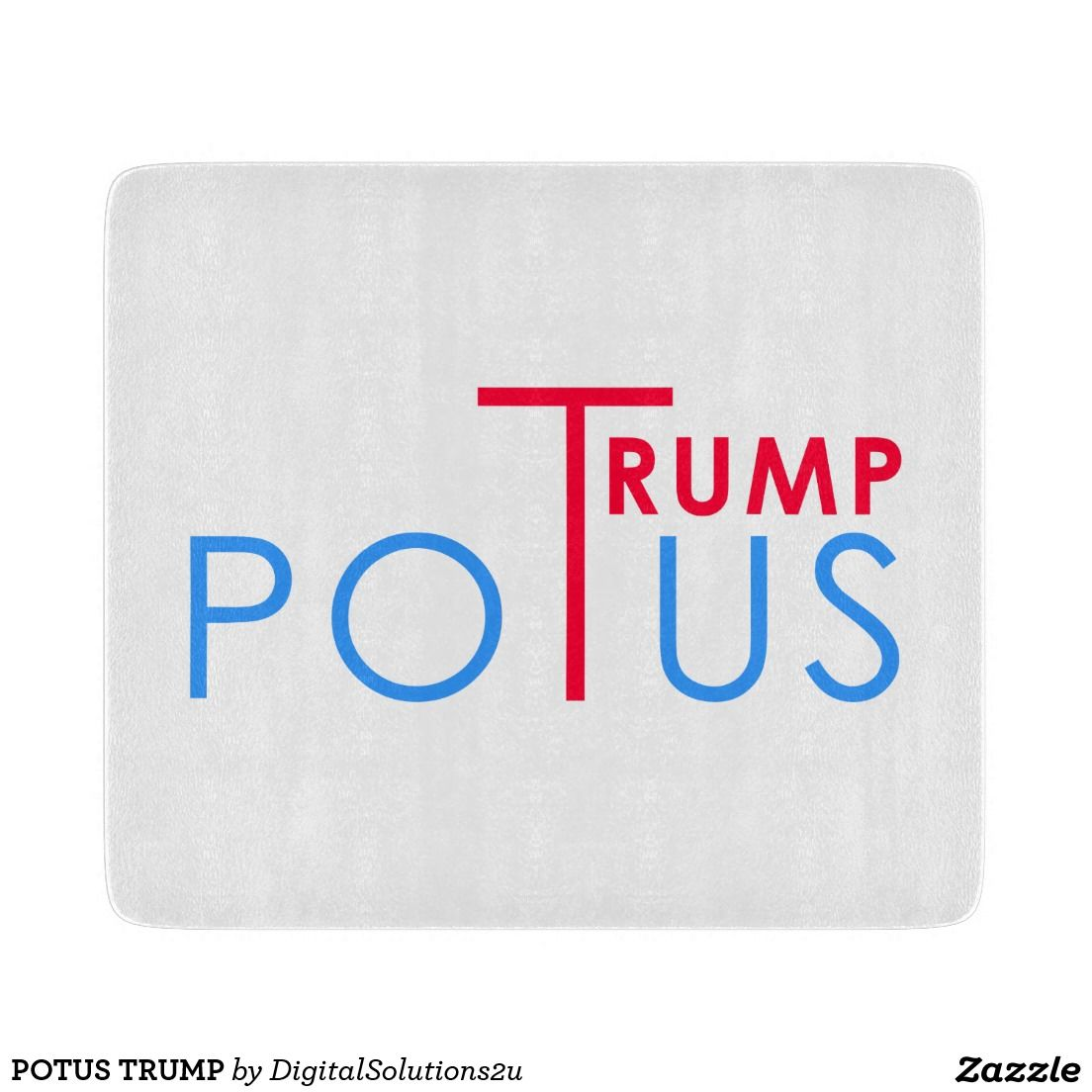 POTUS TRUMP CUTTING BOARD