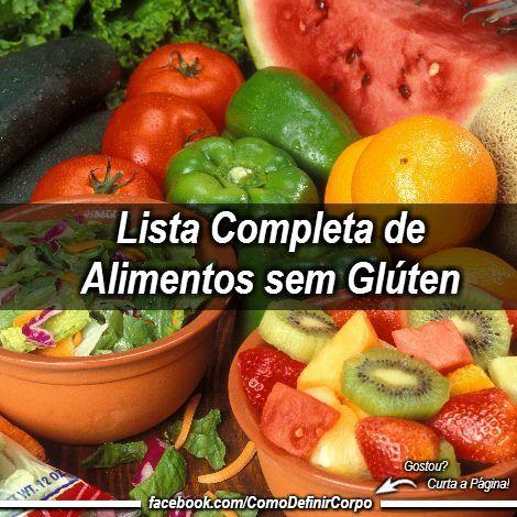 Lista Completa De Alimentos Sem Gluten Para Sua Dieta Confira