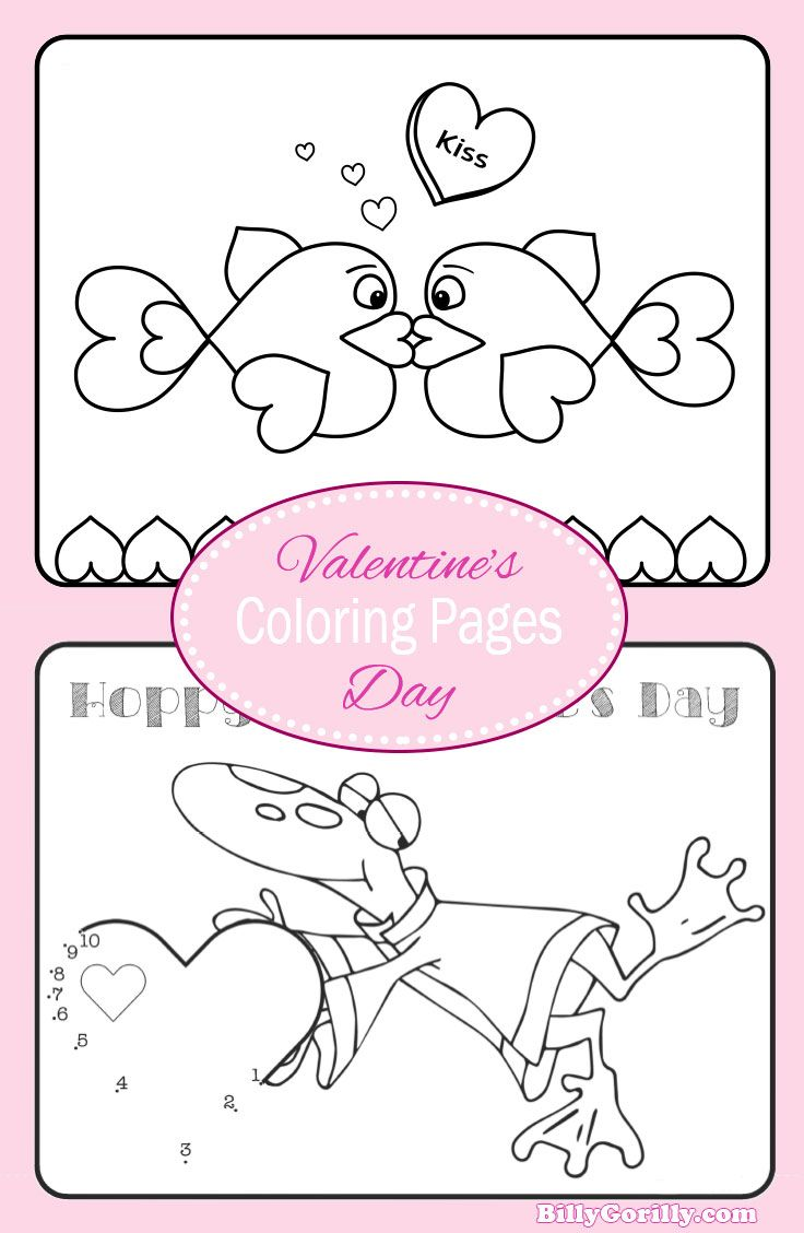 I\'m adding these to my Valentine Coloring Page collection for the ...