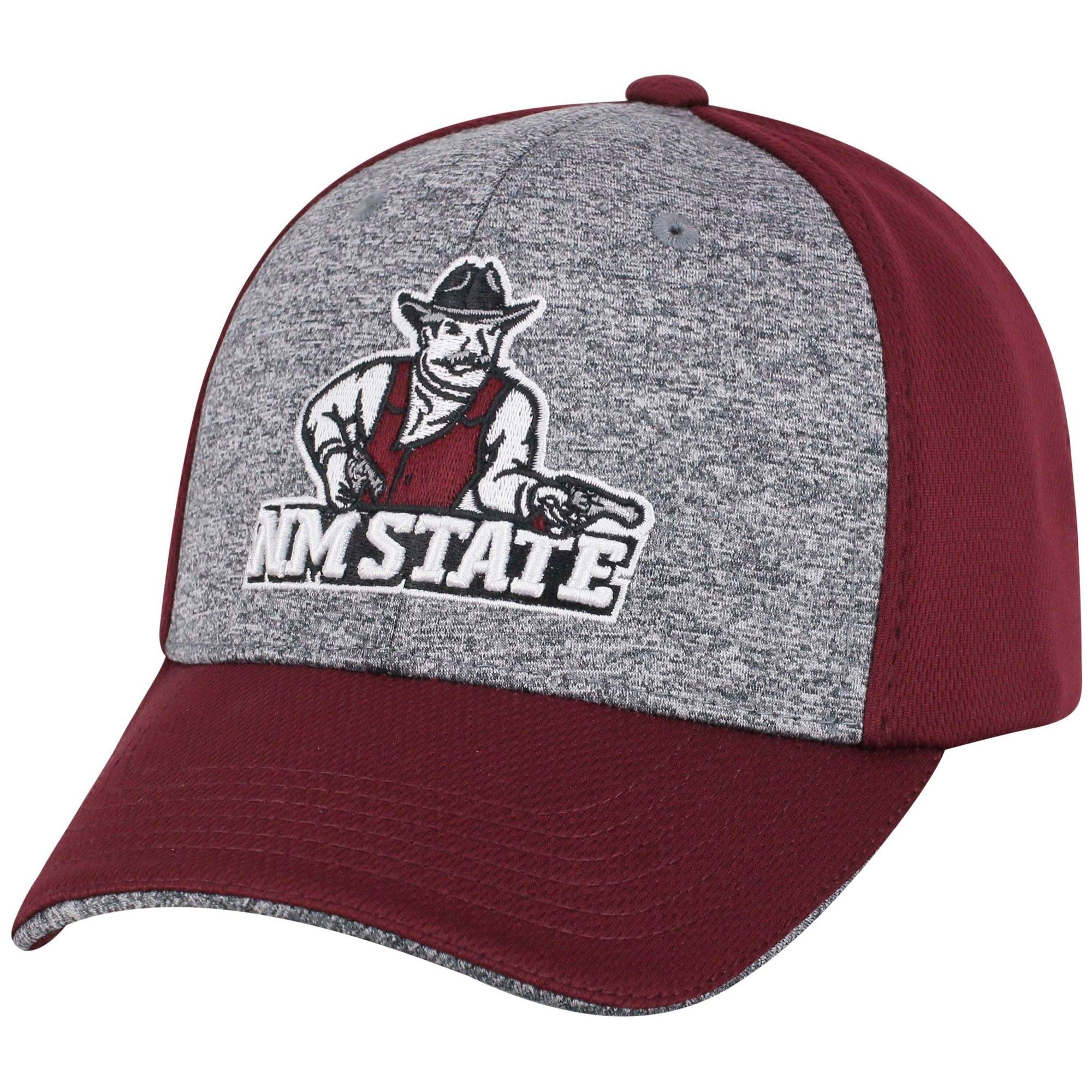 3a74d8a45c9 NCAA Men s New Mexico State Aggies Velcro Baseball Hat - Gray ...