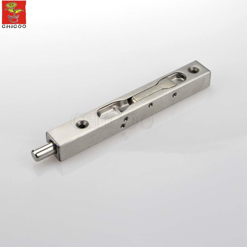 6 Inchdoor Flush Box Bolt Box 304 Stainless Steel Slide Door Lock Bolt 20mm Wide Concealed Door Bolt Hardware Lever Action Door Locks