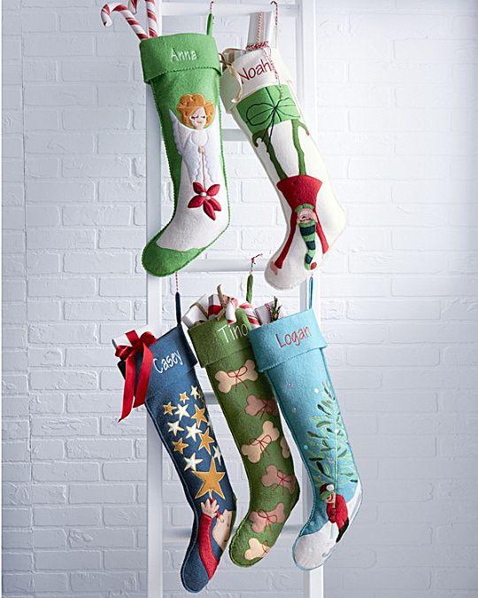 Hable Christmas Stocking Collection | Christmas stockings ...