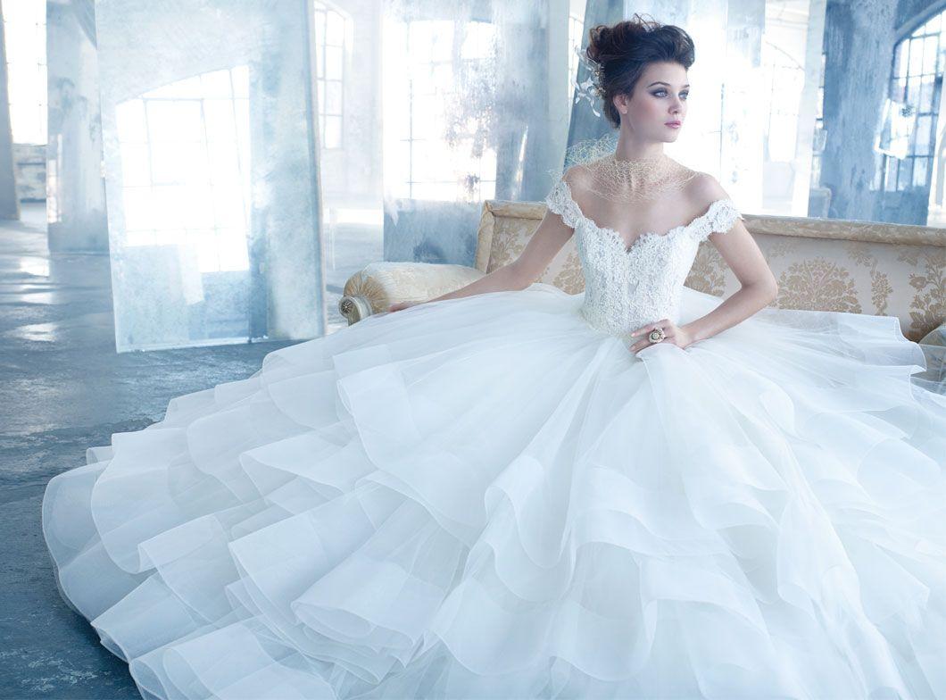 Cinderella wedding dress | My Daughter\'s Wedding | Pinterest ...