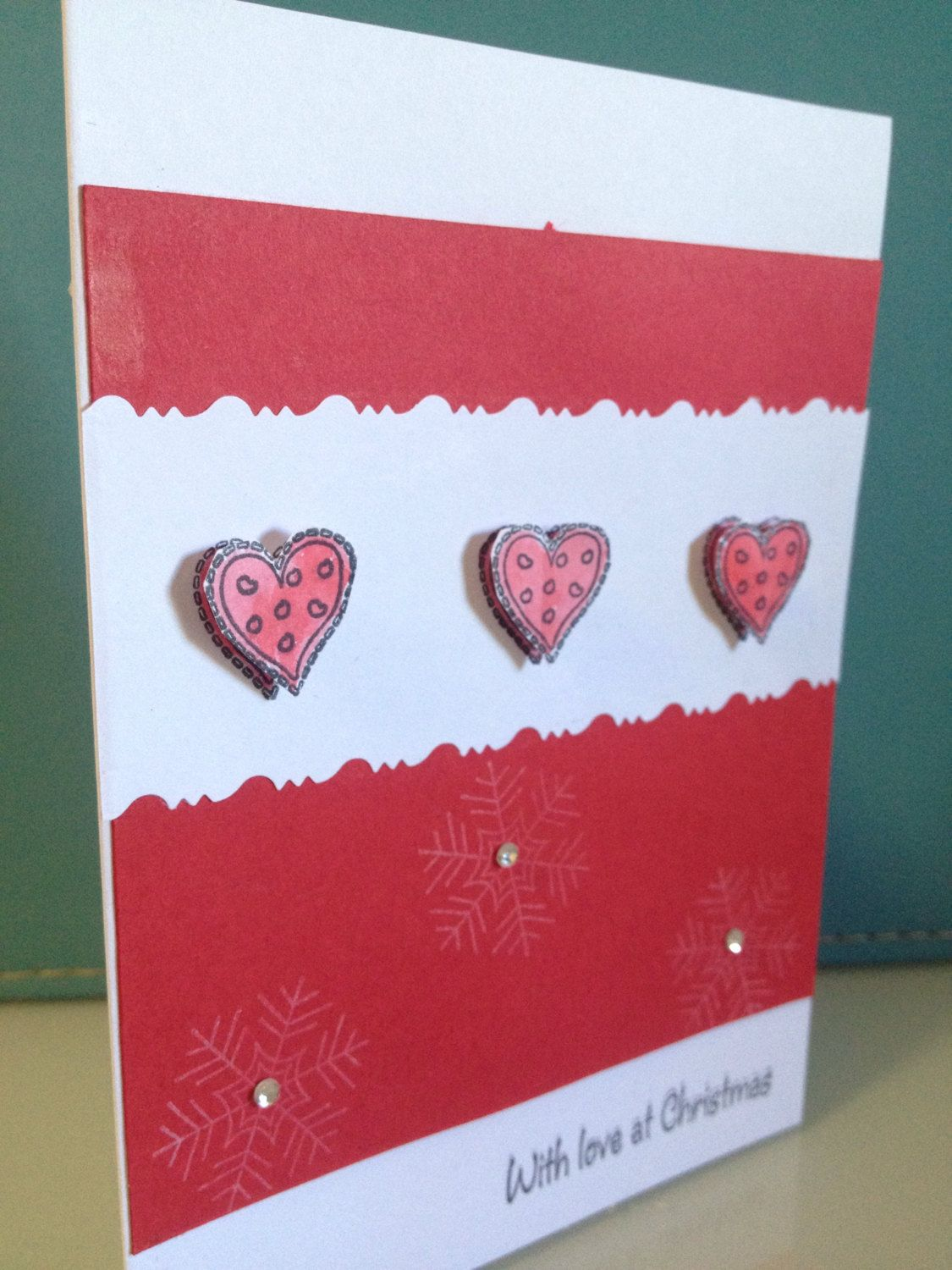 Christmas Love Card Cards Pinterest Closest Friends Cards And