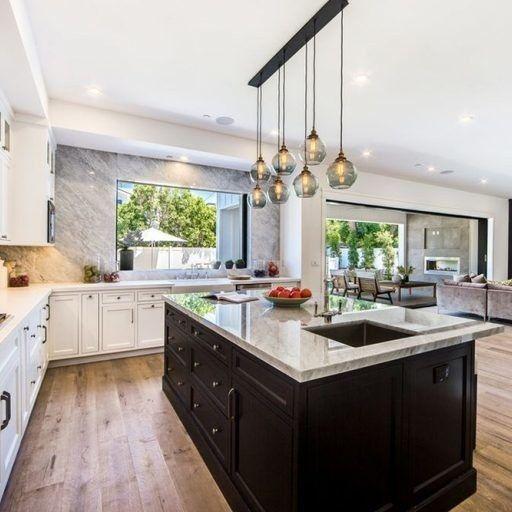 White Oak Floors, Custom Cabinetry, Bella Thorne, Inspired Homes, Custom  Homes,