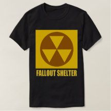 Fallout Shelter  Var 01 T-shirt. My design for a Fallout Shelter T-Shirt .Available at the listed website