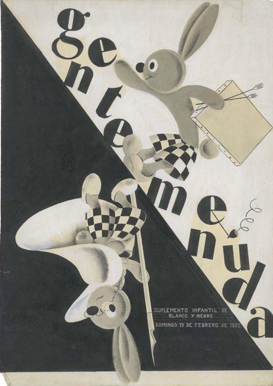 Gente Menuda, 1933, cover by López Rubio