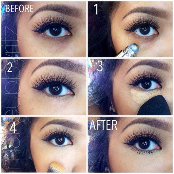 How To Cover Those Pesky Under Eye Circles With Make Up Eye