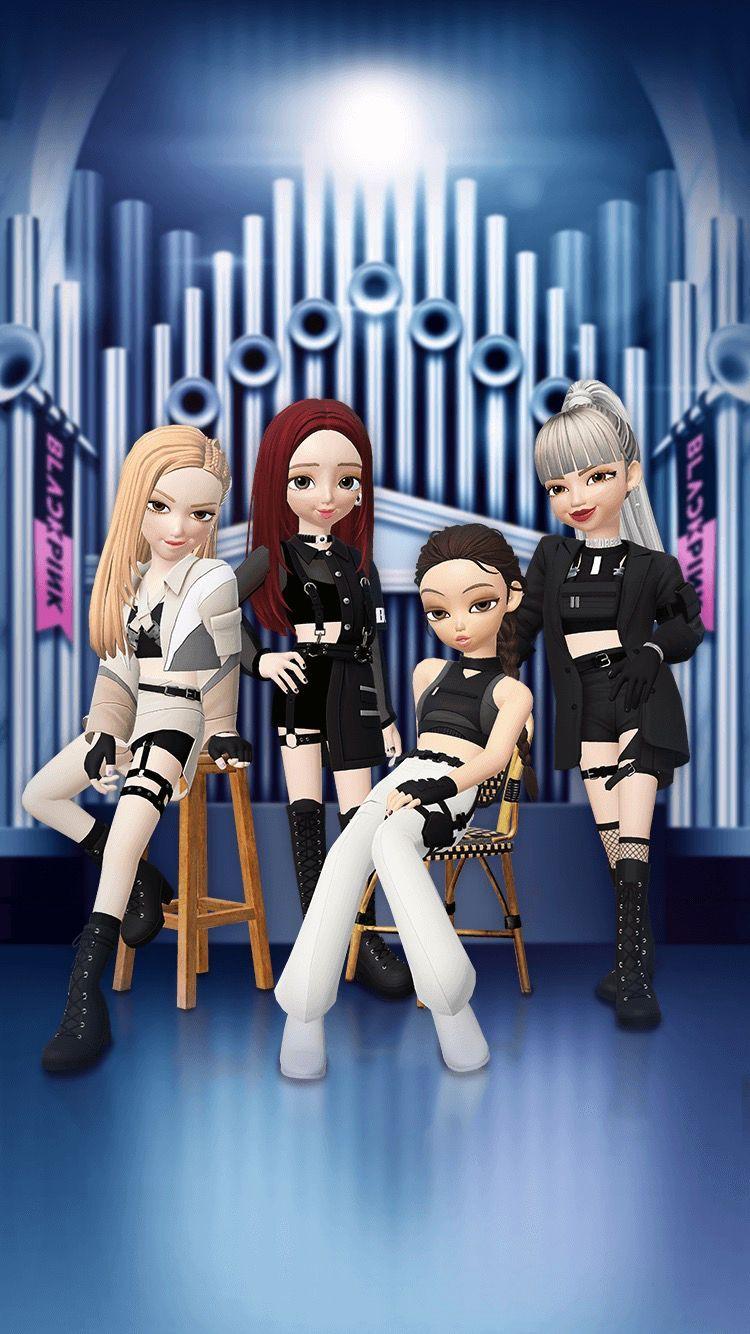 Zepeto Zepeto Global Black Pink Kpop Blackpink Poster Black Pink