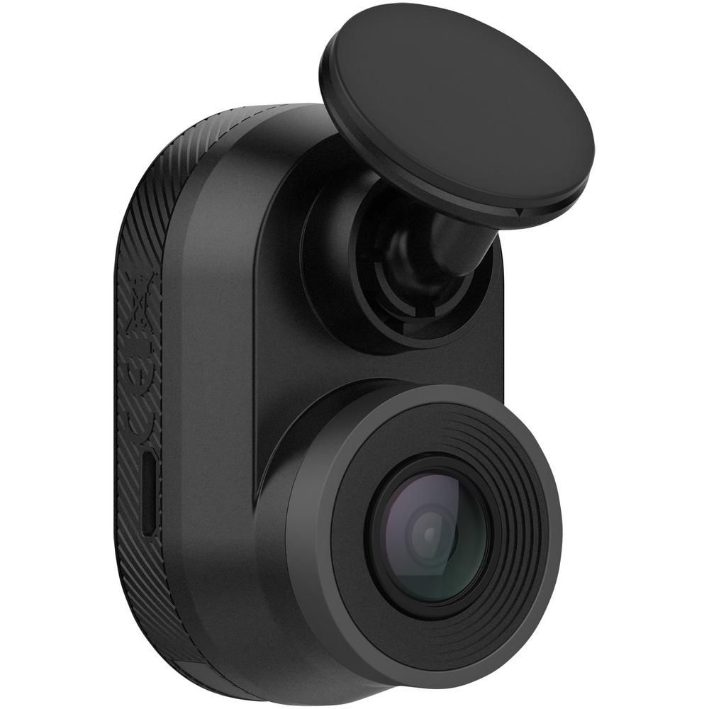The Garmin Dash Cam Mini captures high-quality 1080p HD footage in a dash camera about as small as a car key. Once plugged into your vehicles power source, the camera continually records and automatically saves video of incidents. The 140° wide-angle lens captures what's ahead of your vehicle, and built-in Wi-Fi connectivity enables the camera to upload saved footage to your compatible smartphone running the Garmin Drive app. If you use more than 1 Garmin dash cam to capture video in front of or