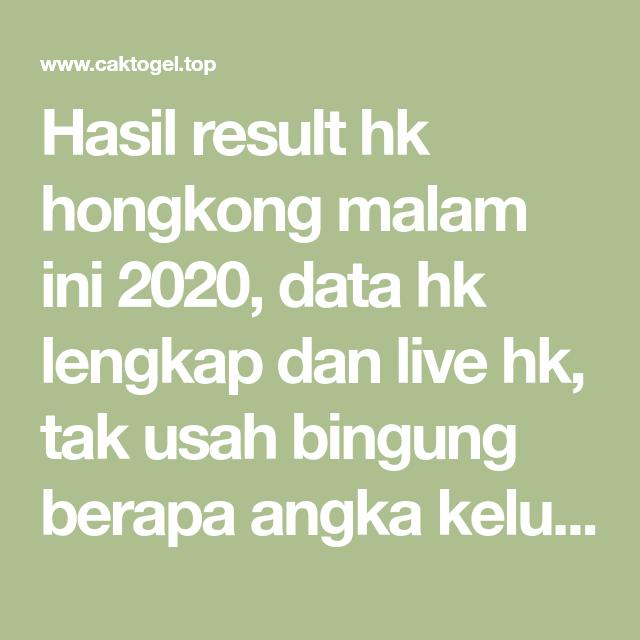 Data hk full