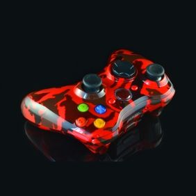 Red Tiger Xbox 360 Controller Kit This Looks Amazing Custom Xbox Xbox 360 Controller Xbox Controller