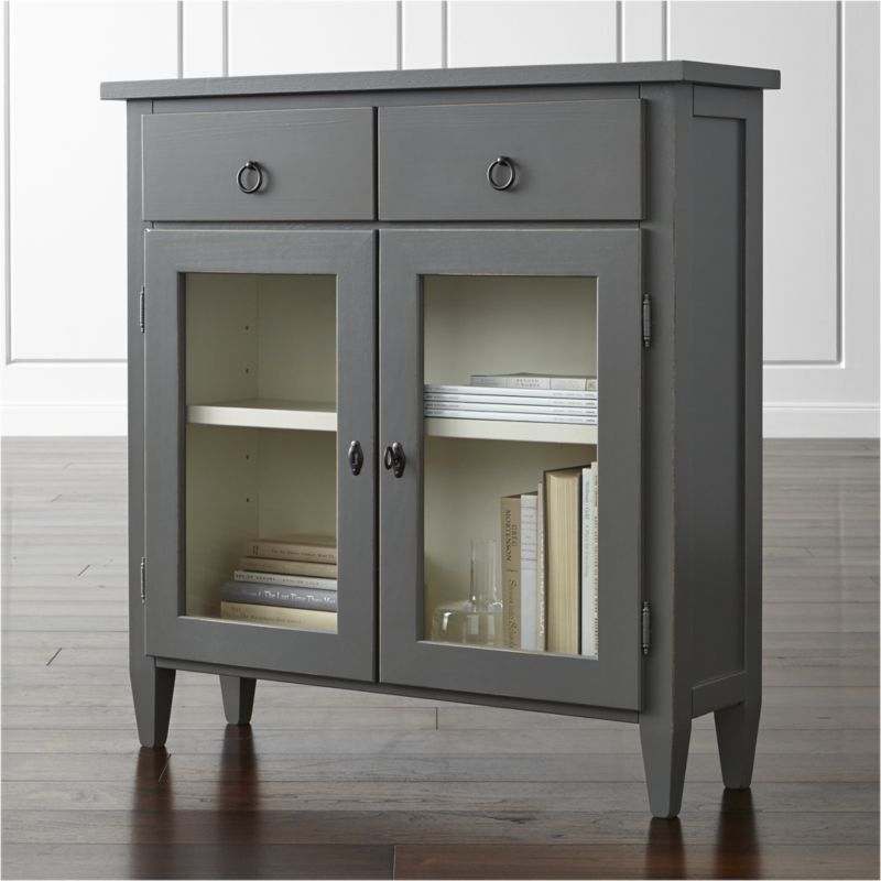 Narrow Entryway Cabinet stretto varentone entryway cabinet - crate and barrel | shops