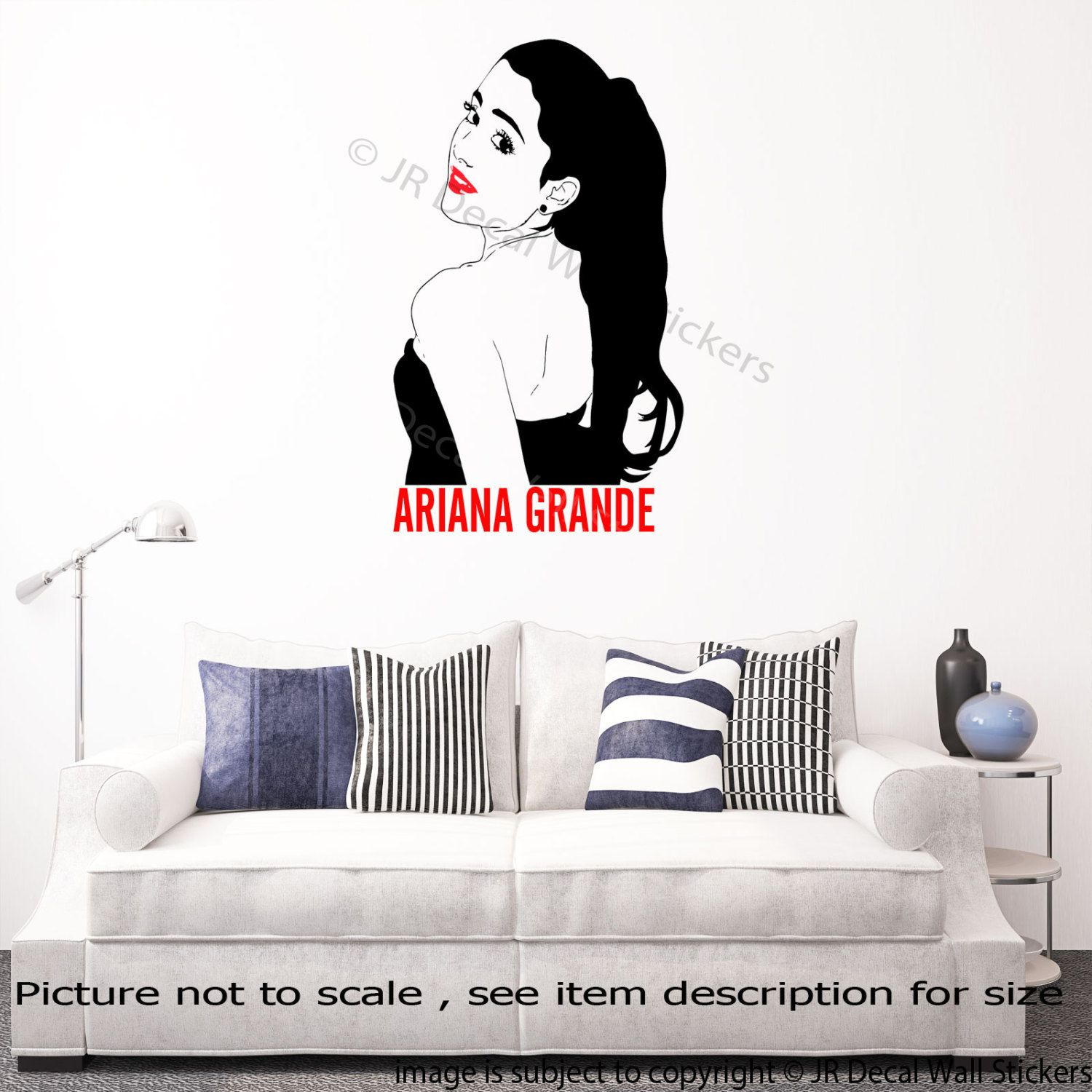 Ariana grande wall decal removable vinyl celebrity wall sticker d3 ariana grande wall decal removable vinyl celebrity wall sticker d3 by jrdecal on etsy amipublicfo Image collections