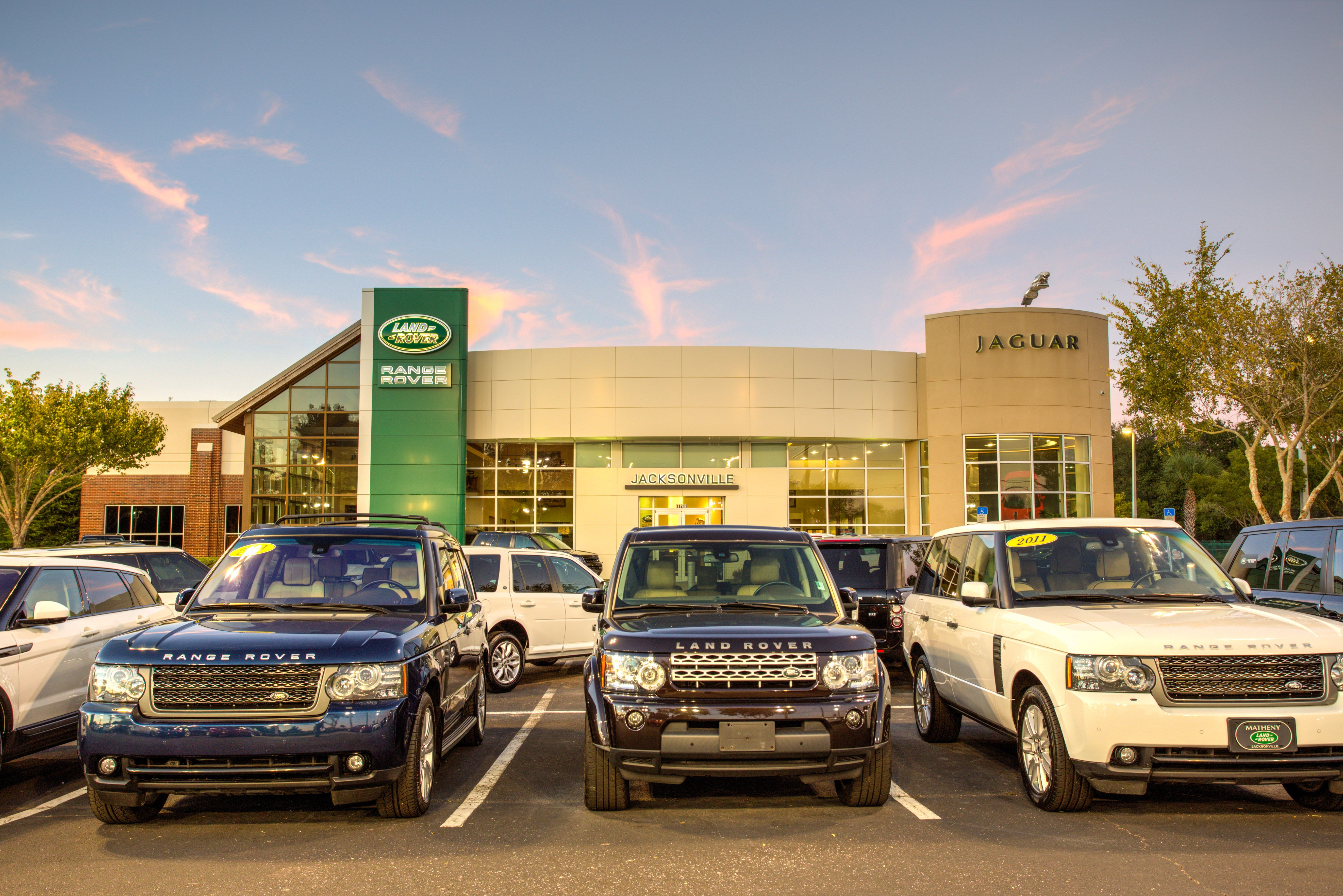 s of our Jaguar and Land Rover Dealership located at
