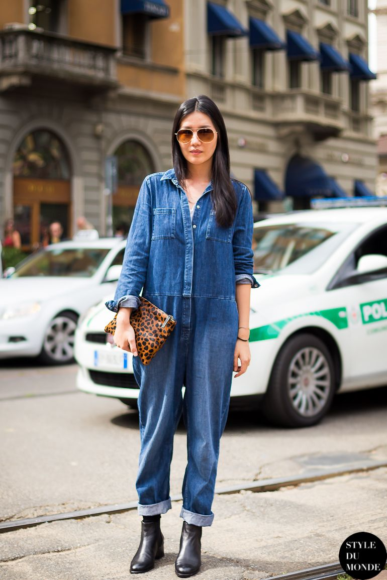 45 Reasons To Revisit The Jumpsuit This Summer Denim Pinterest
