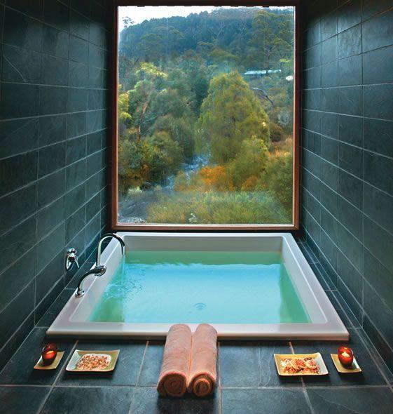 25 Spa Inspired Bathroom Decorating Ideas Tile Black