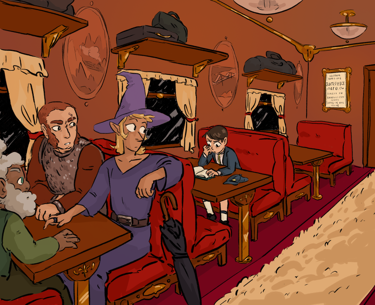 Murder On The Rockport Limited The Adventure Zone