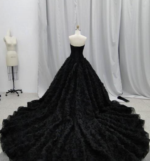 Pin On Black Wedding Gowns