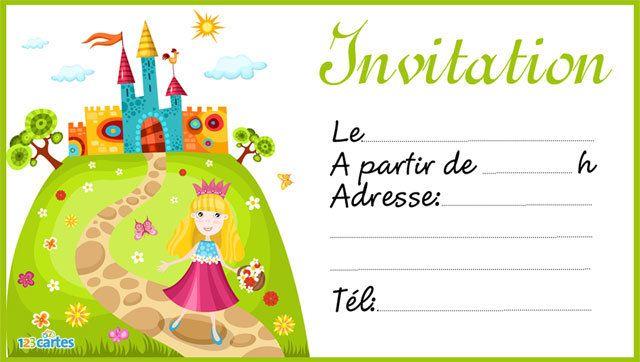 Pingl par alice liliane sur anniversaire princesses et chevaliers pinterest invitation - Image de chateau a imprimer ...