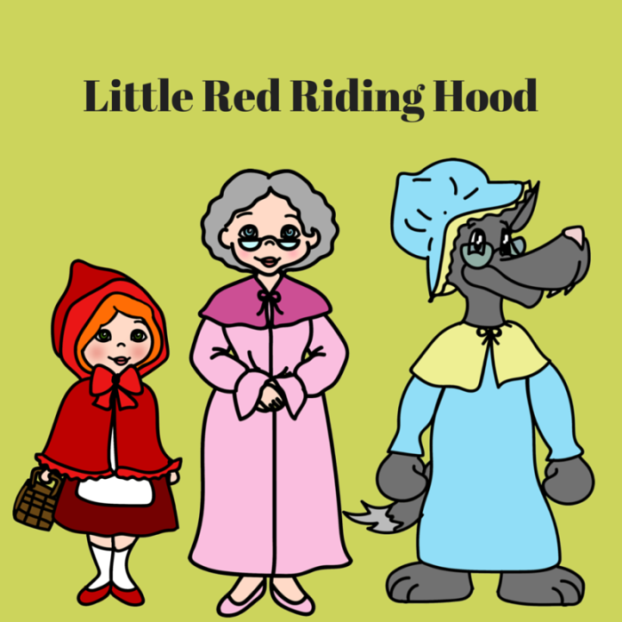 graphic relating to Little Red Riding Hood Story Printable known as Printable Tale Reserve Figures Very little Crimson Using Hood