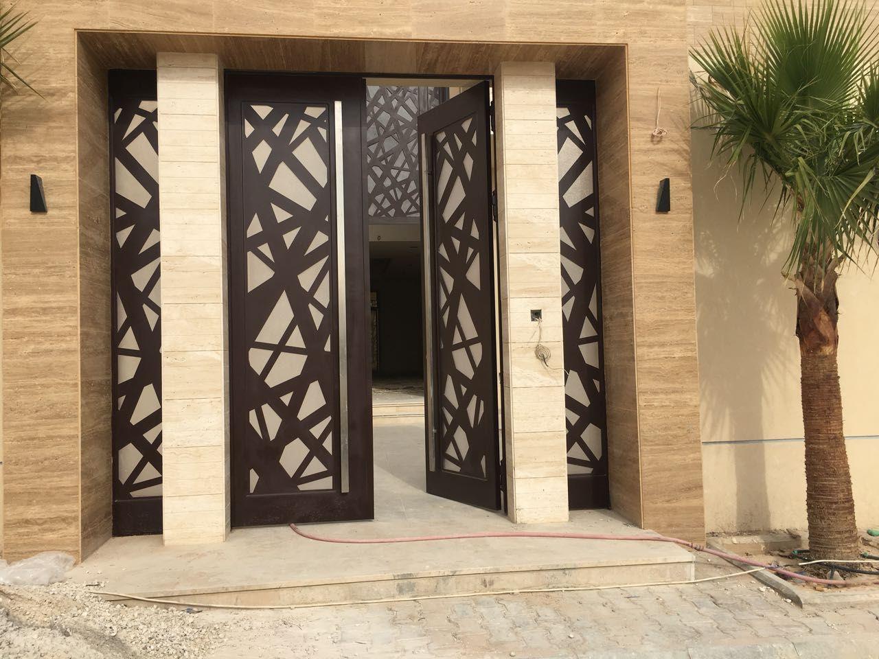 Saudiarabia Riyadh Doors Gates Design Cnc Lifestyle Modern Cadd Beautiful Metaldoor Lasercut Door Gate Design Door Glass Design Metal Doors Design