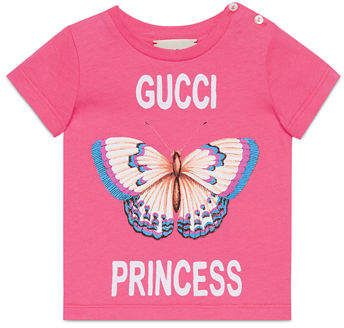 eb00f749 Gucci Princess Butterfly T-Shirt Size 6-36 Months | Products | Gucci ...