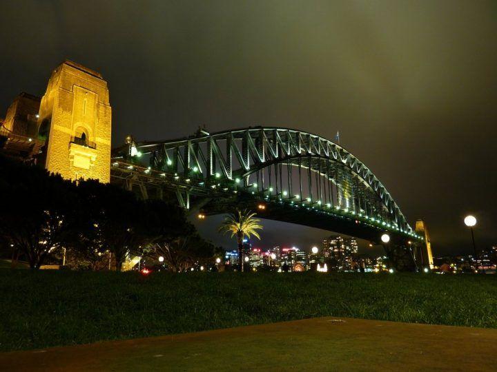 The Sydney Harbor Bridge, Australia