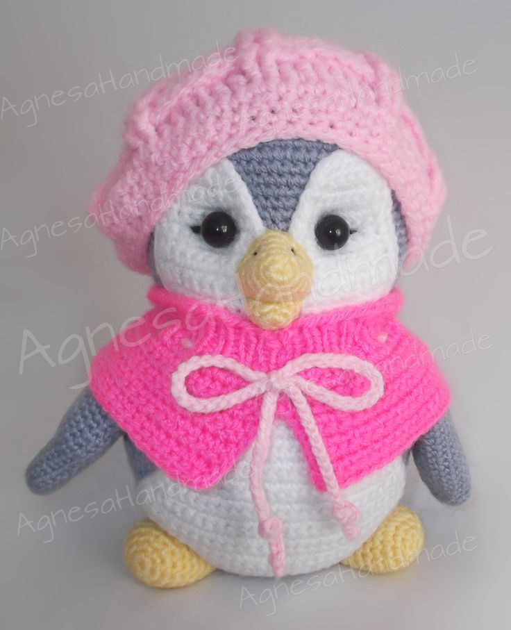 Cute Baby Penguin | Crocheting - Free Animals Patterns | Pinterest ...
