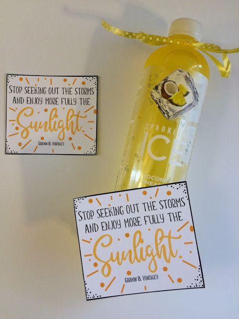 Sunshine Love Notes June 2018 Visiting Teaching/Ministering