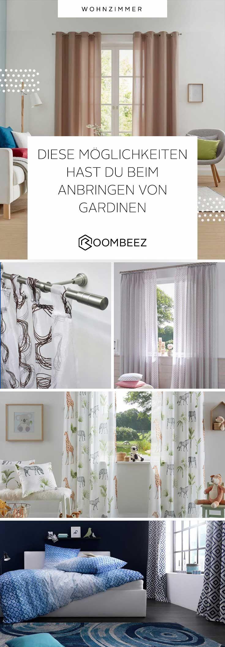 Gardinen Aufhangen Tipps Und Moglichkeiten Roombeez Otto