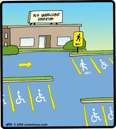 Cartertoons Com Transportation Cartoon Gallery Funny Wheelchair Disability Quotes Humor