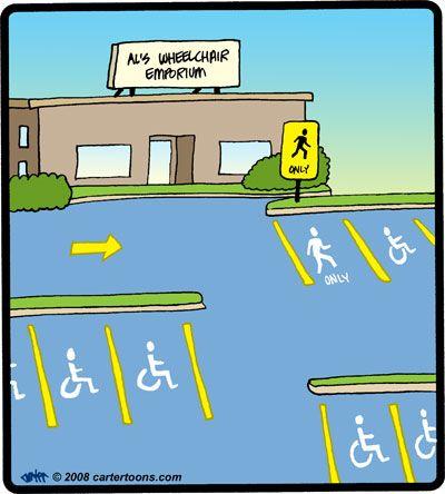 Funny Wheelchair Cartoons   Funny Files Gallery > Transportation Cartoons