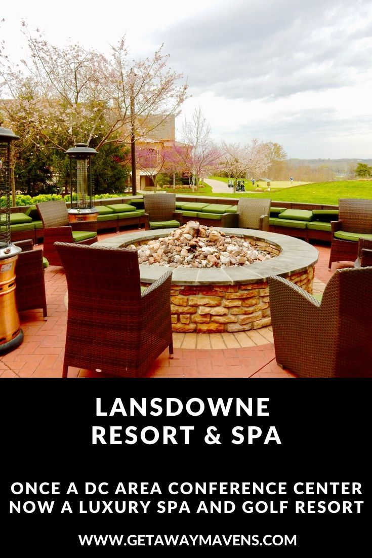 Once just a corporate conference center, Lansdowne Resort, Leesburg VA has morphed into a family-friendly upscale golf and spa resort.