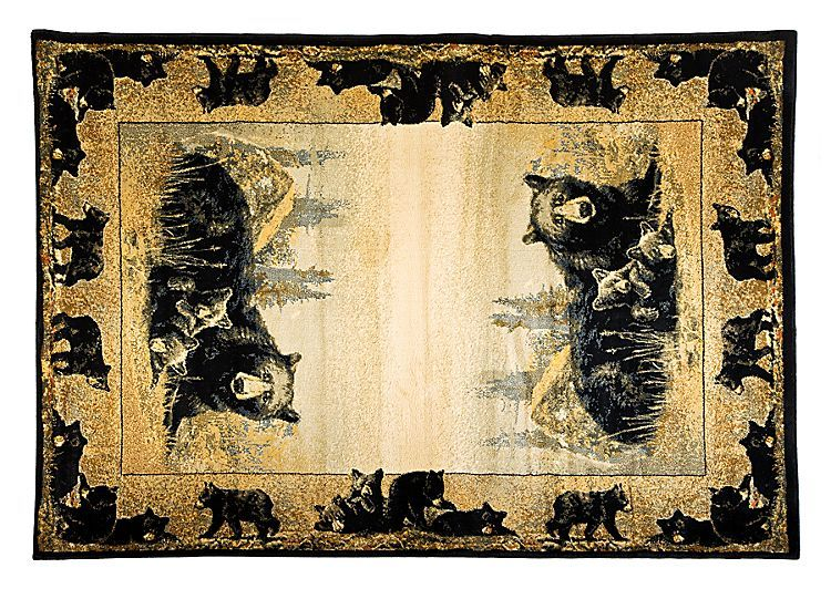 Lodge Themed Area Rugs Time To Play Bass Pro Shops The Best