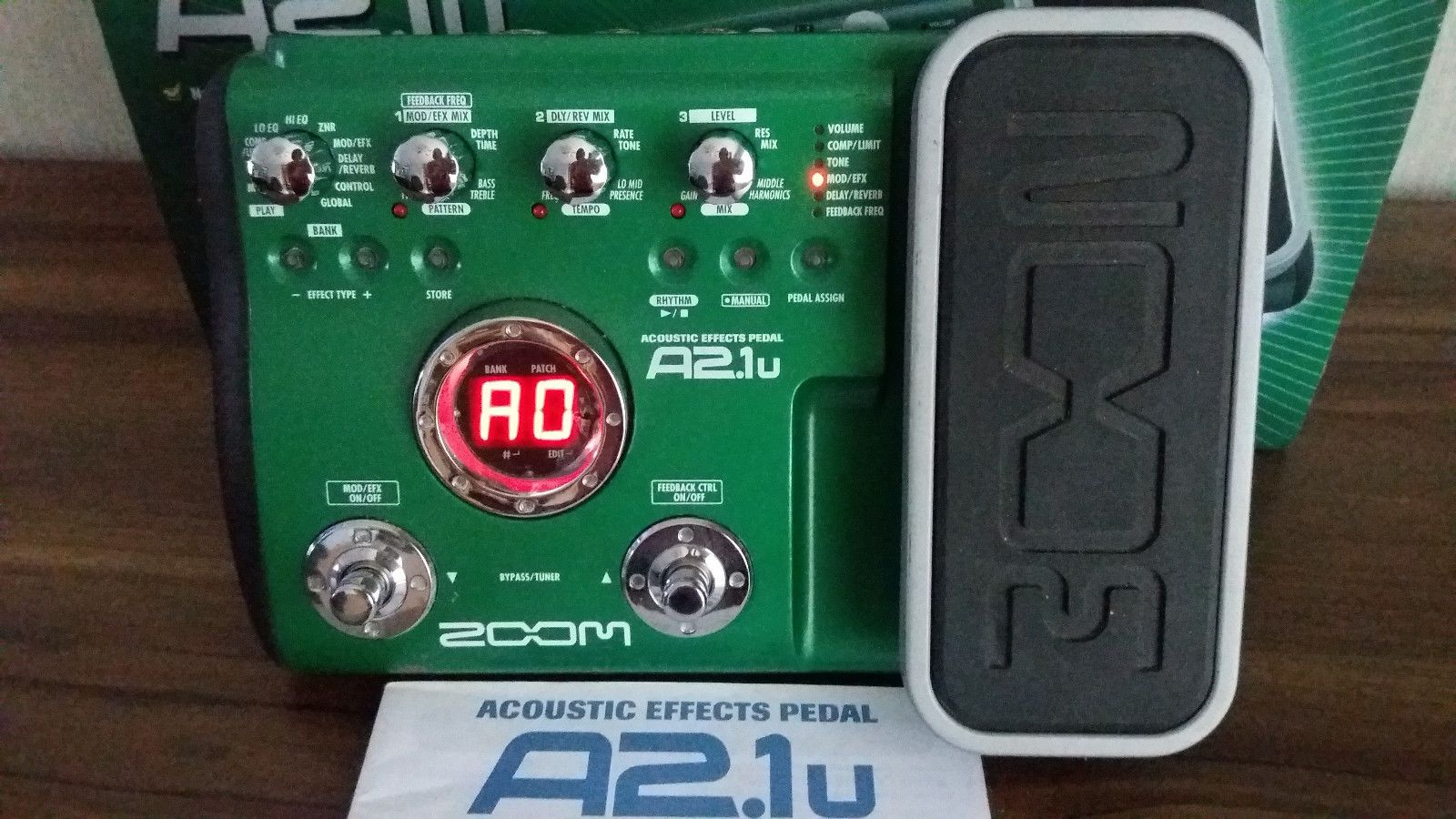 Zoom A2 1u Acoustic Effects Pedal Effects Pedals Guitar Effects Gaming Products