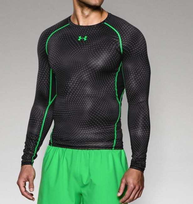 Activewear Creative Mens Under Armour Long Sleeve Compression Shirt Size Small Red Outstanding Features Men's Clothing
