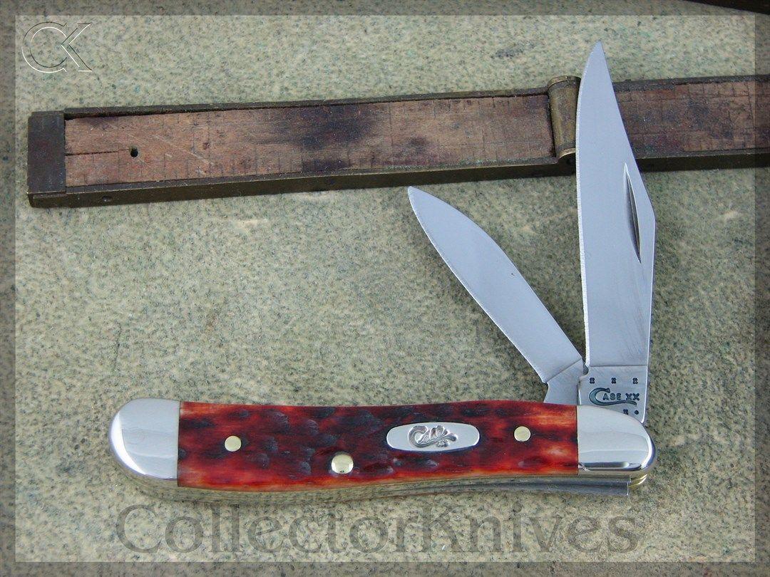 Case Cutlery Peanut CV 6220 Chestnut Jig Bone (CA7006