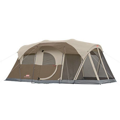CORE 12 Person Instant Cabin Tent with Built In LED Lighting