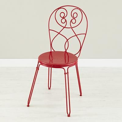 DeskChair_Alice_Cheshire_RA love this metal chair at Land of Nod