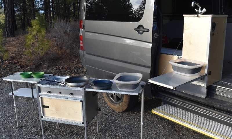 Van Kitchen | DIY Campervan Conversions | Camper kitchen